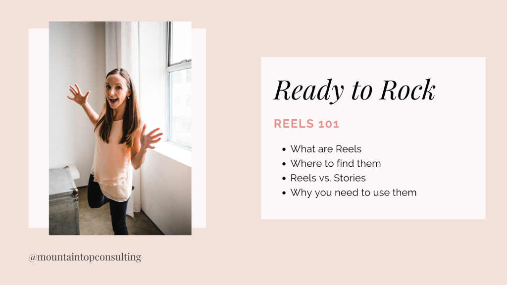 Ready to Rock with Reels Live Webinar